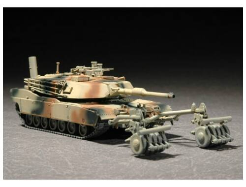 Trumpeter M1A1 with Mine Roller Set 1:72 (07278)