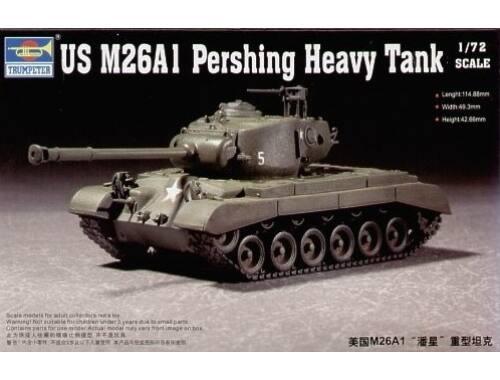 Trumpeter US M26A1 Heavy Tank 1:72 (07286)