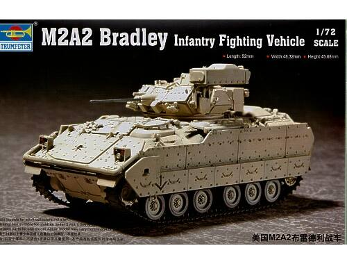 Trumpeter M2A2 Bradley Fighting Vehicle 1:72 (7296)