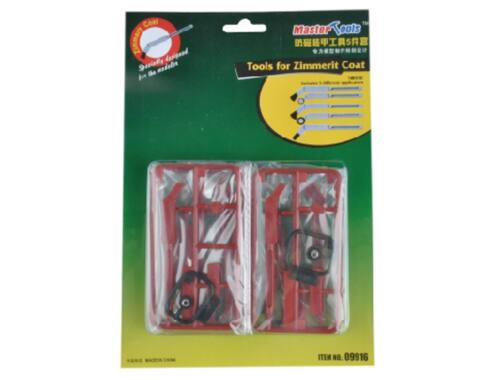 Master Tools Tools for Zimmerit Coat (09916)