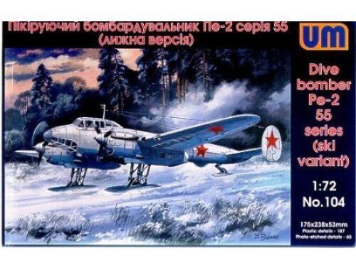 Unimodel Dive Bomber Pe-2 1:72 (104)