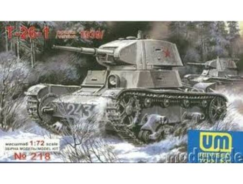 Unimodel T-26 Light Tank 1939 1:72 (218)