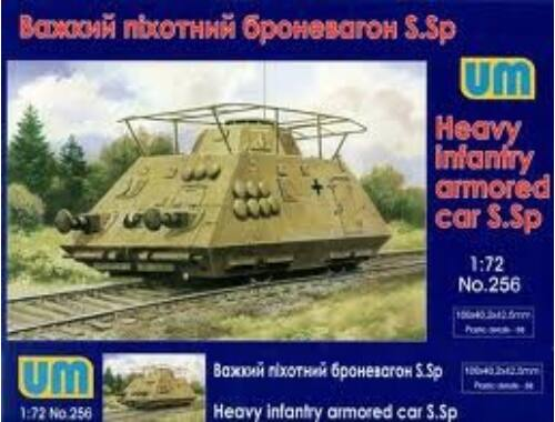 Unimodel Heavy infantry armored car S.Sp 1:72 (256)