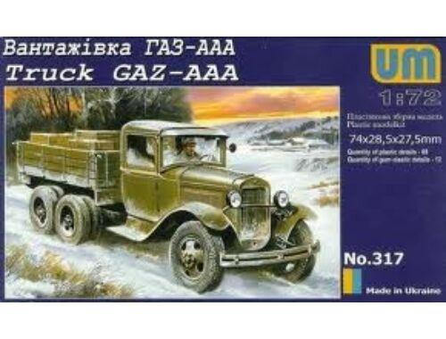 Unimodel Truck GAZ-AAA 1:72 (317)