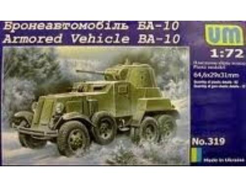 Unimodel Armored Vehicle BA-10 1:72 (319)