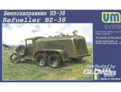 Unimodel Refueller BZ-38 1:72 (323)