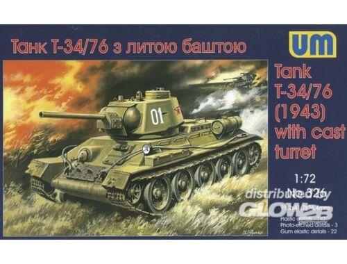 Unimodel T-34/76 (1943) 1:72 (326)