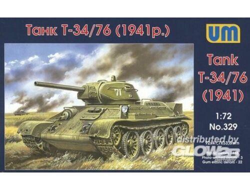 Unimodel Tank T-34/76 (1941) 1:72 (329)