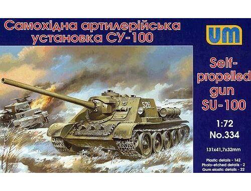Unimodel SU-100 1:72 (334)