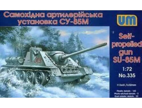 Unimodel Self-propelled Gun SU-85M 1:72 (335)