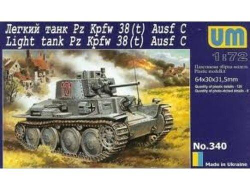 Unimodel PzKpfw.38(t) 1:72 (340)