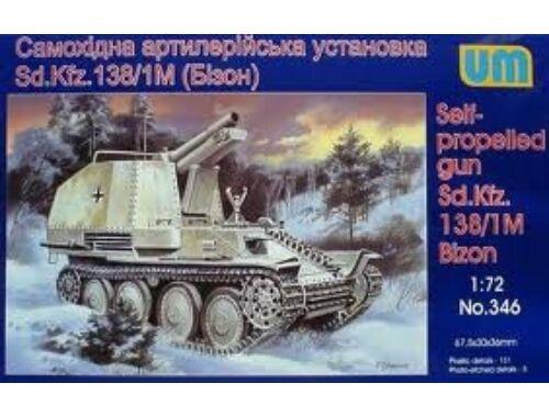Unimodel Sd.kfz138/1M Bizon 1:72 (346)