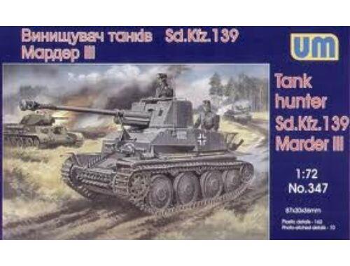Unimodel Panzerjäger Marder III Sd.Kfz.139 1:72 (347)
