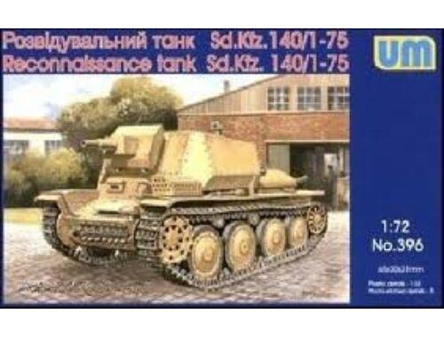 Unimodel Reconnaissance tank Sd.Kfz 140/1-75 1:72 (396)