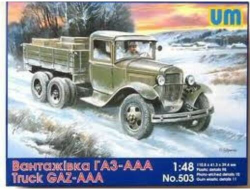 Unimodel Soviet truck GAZ-AAA 1:48 (503)