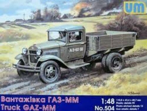 Unimodel GAZ-MM Soviet truck 1:48 (504)