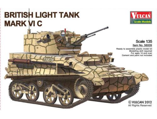 Vulcan British Light Tank MK.VI C 1:35 (56009)