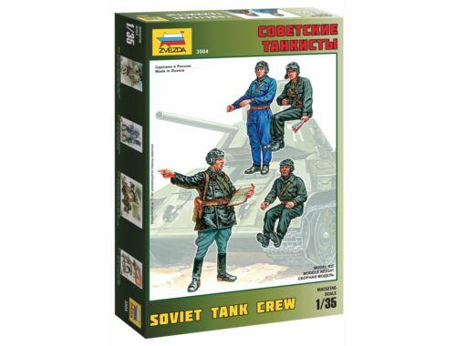Zvezda 1:35 Soviet Tank Crew 1:35 (3504)
