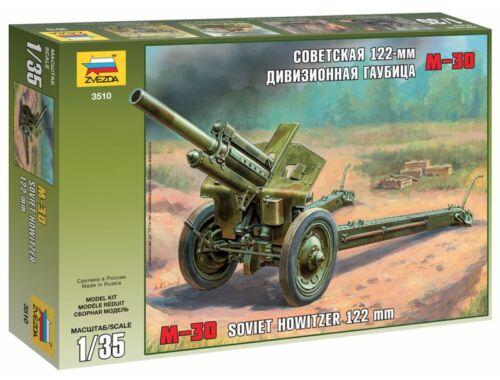 Zvezda M-30 Soviet 122-mm Howitzer 1:35 (3510)