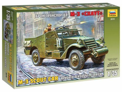 Zvezda M-3 Armored Scout Car 1:35 (3519)