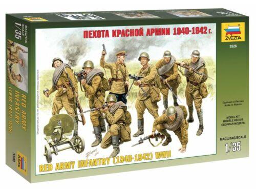 Zvezda Red Army Infantry 1940-1942 1:35 (3526)