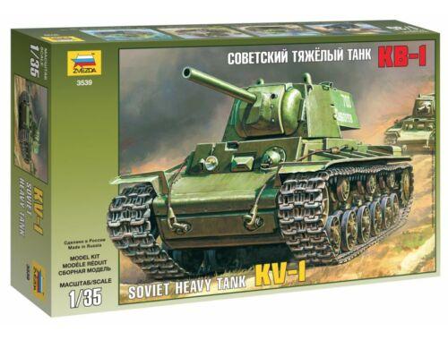 Zvezda KV-1 Soviet Heavy Tank 1:35 (3539)