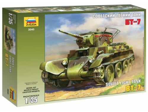 Zvezda BT-7 Soviet Tank 1:35 (3545)
