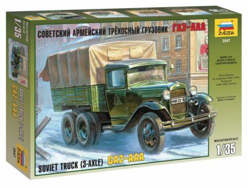 Zvezda GAZ-AAA Soviet Truck 1:35 (3547)