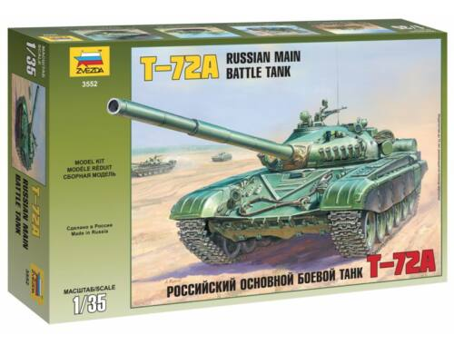 Zvezda T-72A Russian Main Battle Tank 1:35 (3552)