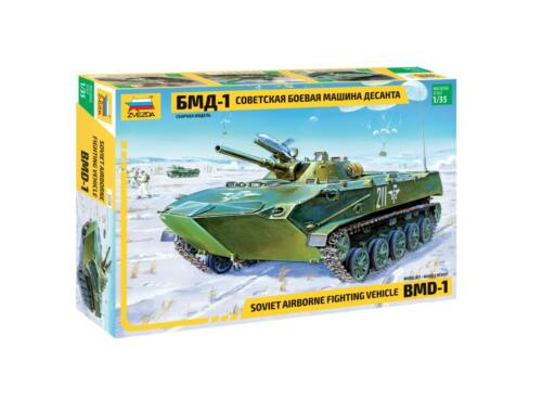 Zvezda BMD-1 Russian airborne fighting vehicle 1:35 (3559)