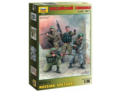 Zvezda Russian Special Forces Spetsnaz 1:35 (3561)