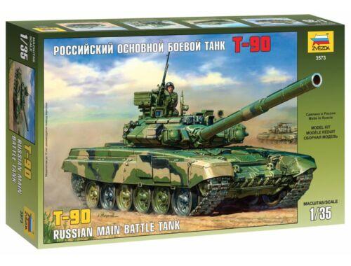 Zvezda T-90 Russian MBT 1:35 (3573)