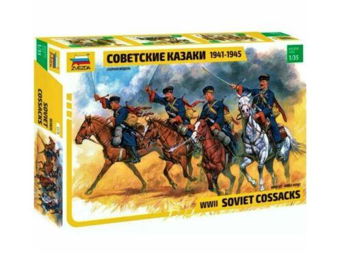 Zvezda Soviet Cossaks WWII 1:35 (3579)