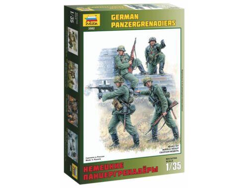 Zvezda German Panzergrenadiers 1:35 (3582)