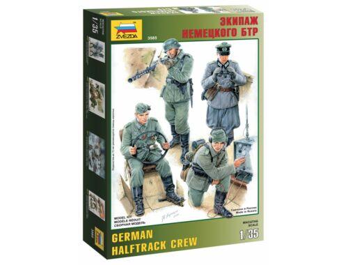 Zvezda German Halftrack Crew 1:35 (3585)