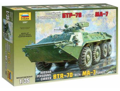 Zvezda BTR-70 with MA-7 Turret 1:35 (3587)