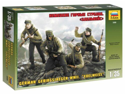 Zvezda German Gebirgsjager WWII Edelweiss 1:35 (3599)