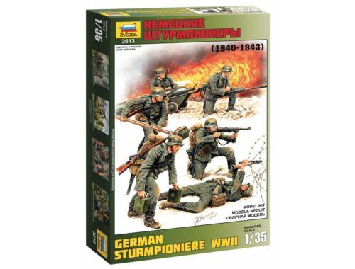 Zvezda German Sturmpioniere WWII 1:35 (3613)