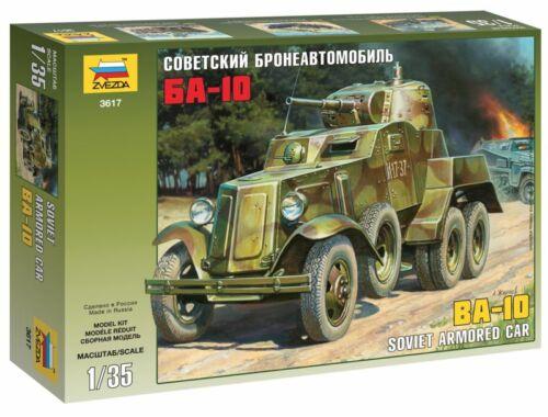 Zvezda Soviet Armored Car BA-10 1:35 (3617)