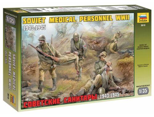 Zvezda Soviet Medical Personnel 1943-45 1:35 (3618)