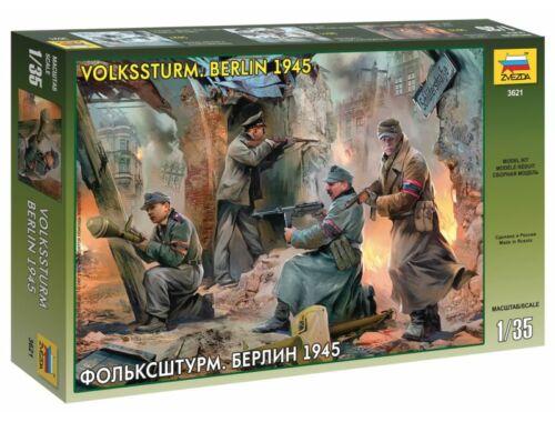 Zvezda German Volkssturm Berlin 1945 1:35 (3621)