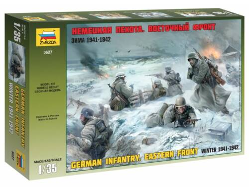 Zvezda German Infantry Winter 1941/42 1:35 (3627)