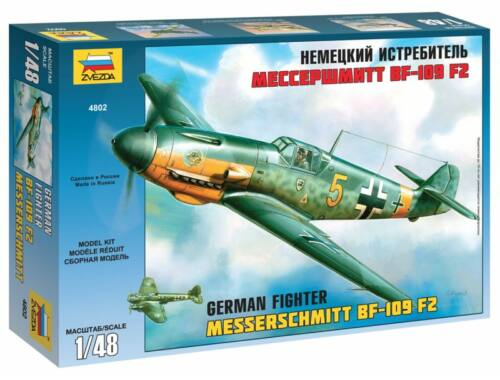 Zvezda Bf-109 F2/F4 1:48 (4802)