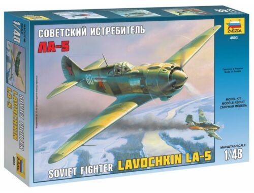 Zvezda Lavochkin La-5 Soviet Fighter 1:48 (4803)