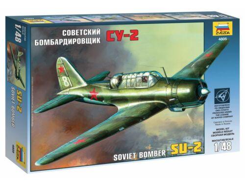 Zvezda SU-2 Soviet Light Bomber 1:48 (4805)