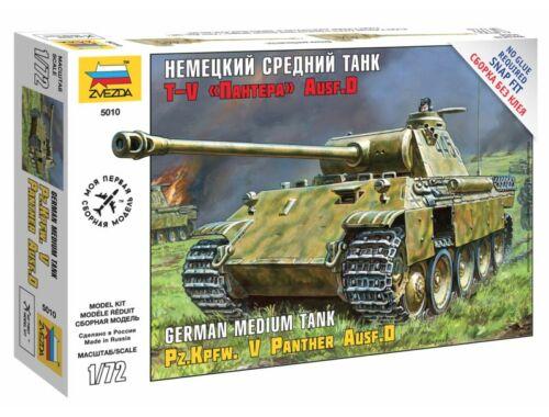 Zvezda Panzerkampfw.V Panther Ausf.D 1:72 (5010)