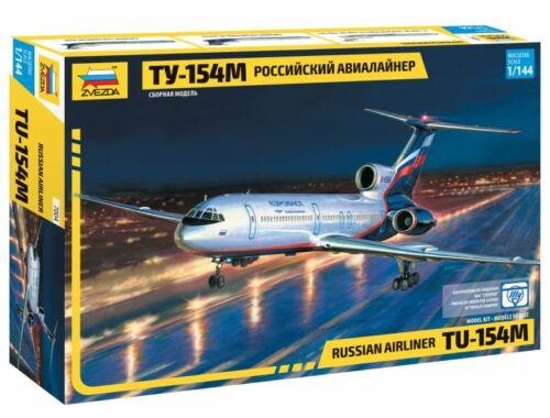 Zvezda Tupolev Tu-154M Russian Airliner 1:144 (7004)