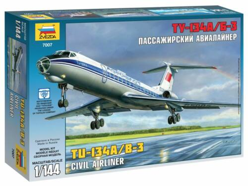 Zvezda Tupolev Tu-134A/B-3 1:144 (7007)