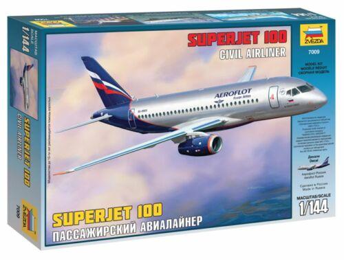 Zvezda Sukhoi Superjet 100 1:144 (7009)