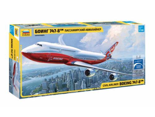 Zvezda Boeing 747-8 1:144 (7010)